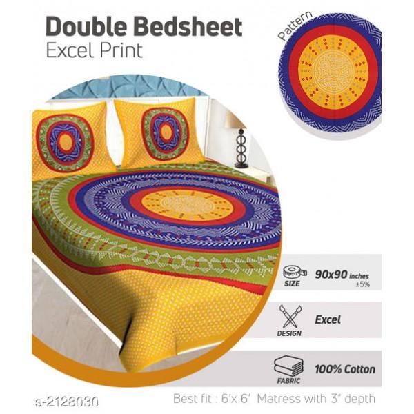 Modern Cotton Double Bedsheet